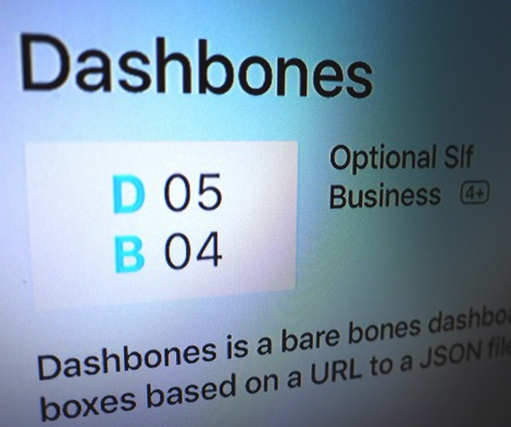 Dashbones: Your Barebones Dashboard