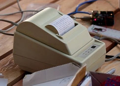 Tom Taylor's Microprinter