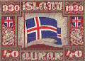 Icelandic Flag Stamp
