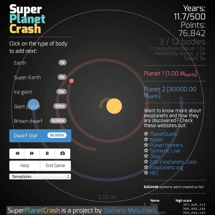 Super Planet Crash