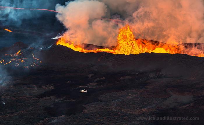 Eruption Copyright: Snorri Thor Tryggvasson