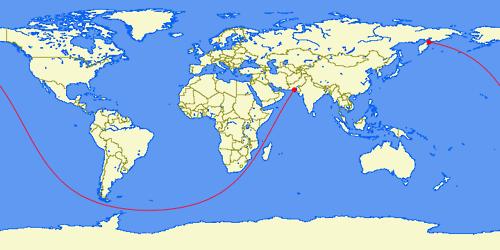 Longest Sea Journey