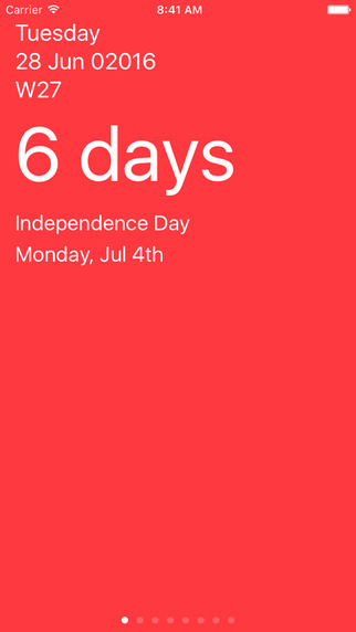 Red Days App