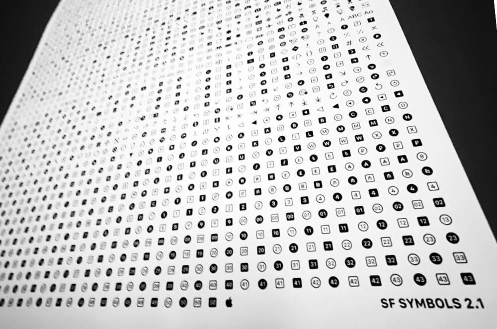 SF Symbols Poster