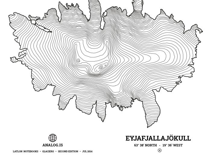 Eyjafjallajökull notebooks
